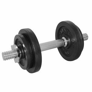 Dumbbellset, with 1 bar screw - 10 kg