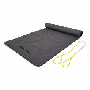 TPE Yogamat - Fitnessmat 4mm dik - Antraciet