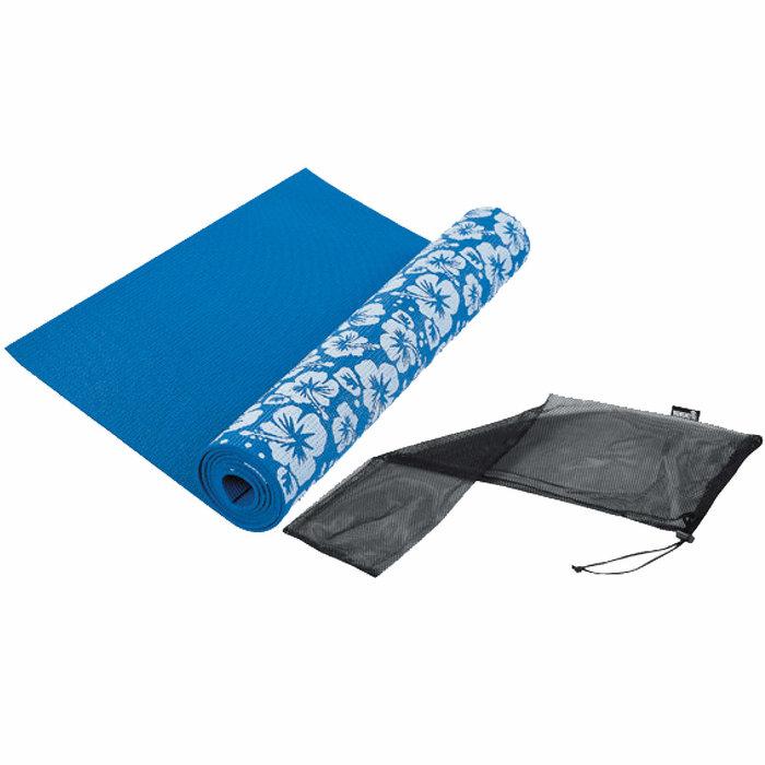 Yoga mat Printed - Blue