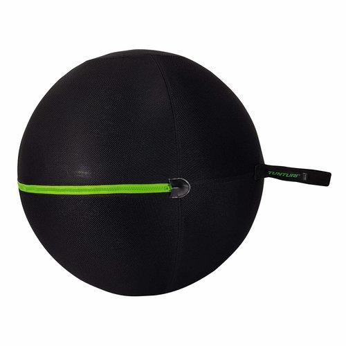 Fitnessbalhoes met groene rits