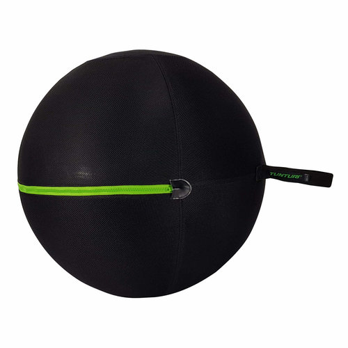 Gymball Cover With Green Zipper