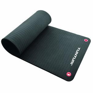 Pro Fitnessmat - Oefenmat - 140cm - Zwart