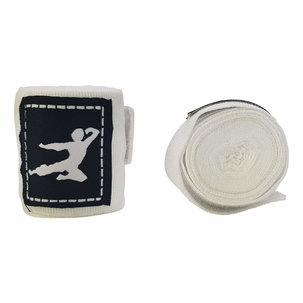 Bruce Lee Boks Bandage - Paar - 250 cm - Wit