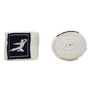 Bruce Lee Boks Bandage - 450 cm - Wit