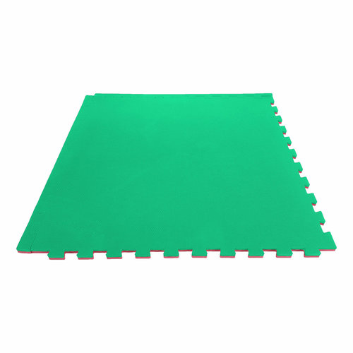 Puzzle Mat - Red/Green
