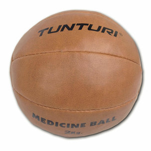 Medicine Ball - Medicijnbal - kunst leer 2kg