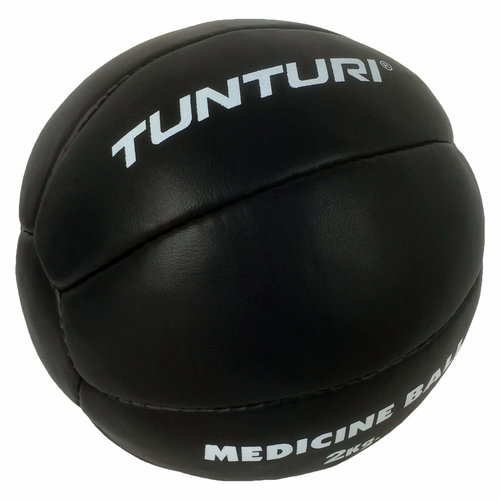 Medicine Ball Leather, Black