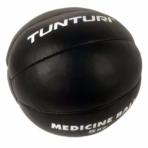 Medicine Ball Leather, Black 5kg