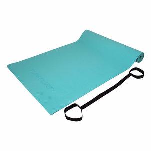 PVC Yogamat - Fitnessmat 4mm dik - Turquoise