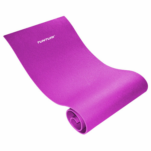 XPE Fitnessmat - Oefenmat - 160 cm x 60 cm x 0,7 cm - Roze