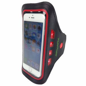 Sport Telefoonarmband - met Ledverlichting - Rood