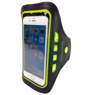 Sport Telefoonarmband - met Ledverlichting - Geel