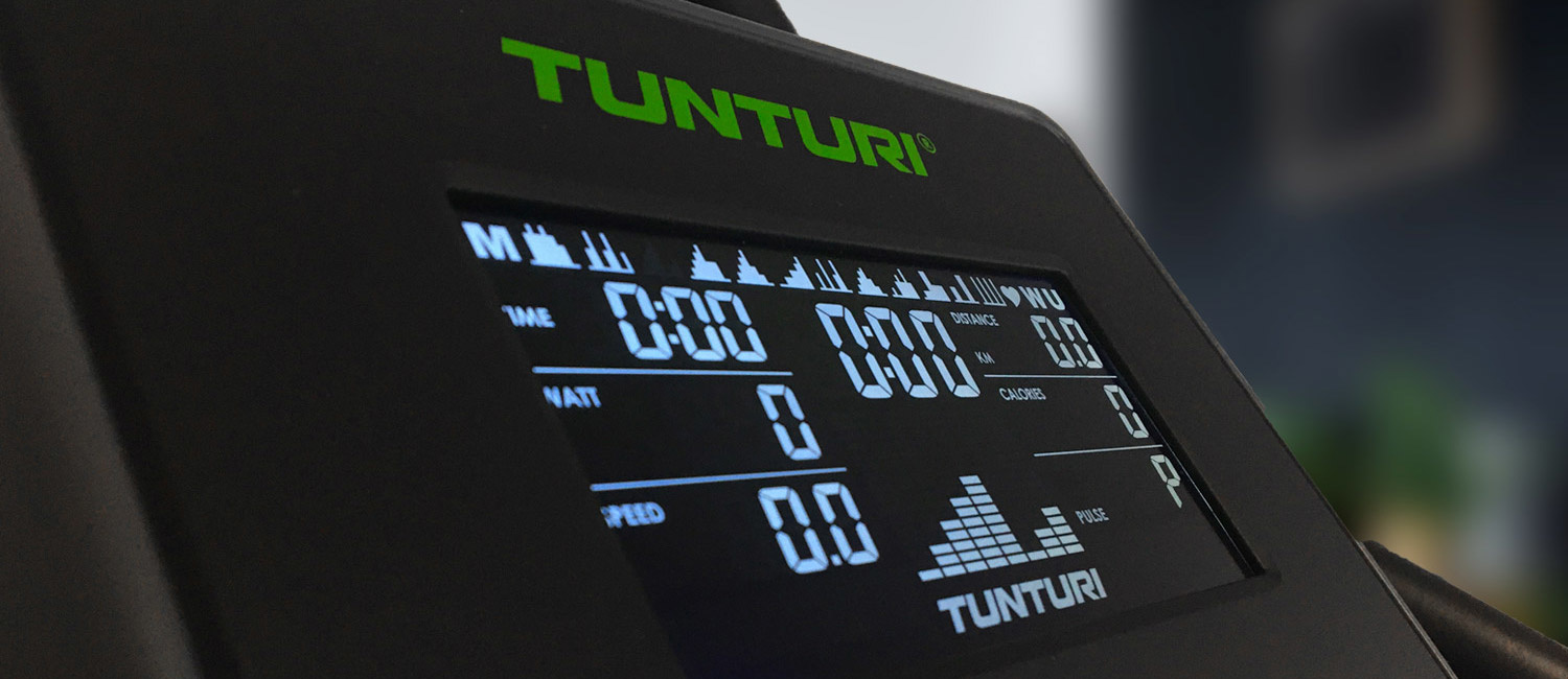 Tunturi incorporates BAI technology in the displays of cardio equipment