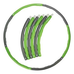 Fitness Hoelahoep - Groen/Grijs (1,2 - 1,8kg)