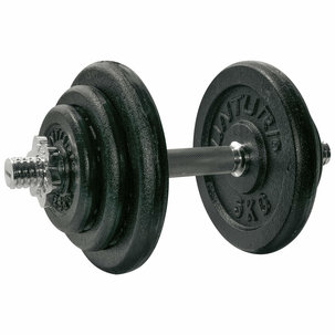 Dumbbellset, with 1 bar screw - 20 kg
