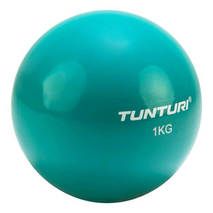Tunturi Yoga Toningbal - 1kg, Turquoise