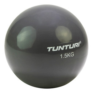 Tunturi Yoga Toningbal - 1,5kg, Anthraciet