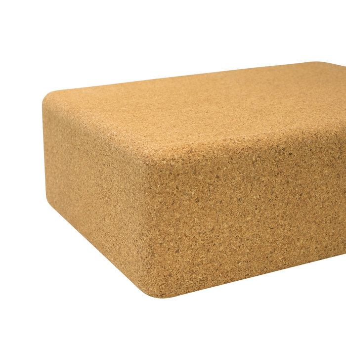 Cork yoga block - Cork Yoga Brick