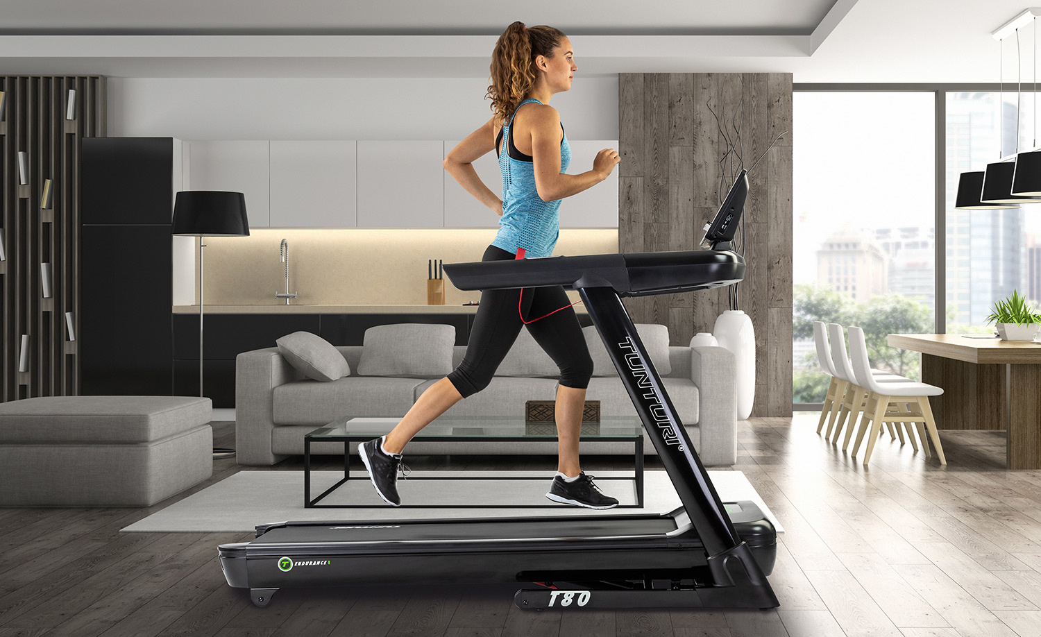 The best running and rehabilitation experience with an Endurance treadmill