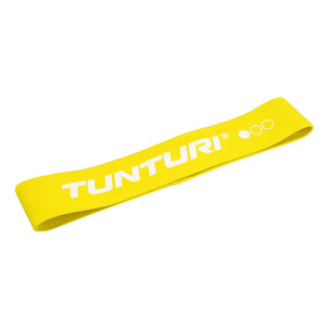 Weerstandsband textiel - resistance band - Geel - Licht