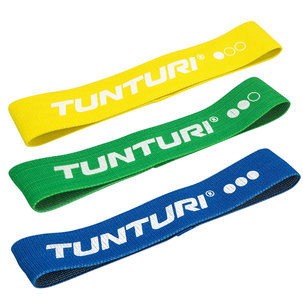 Textile Resistance Band set, 3 Pieces