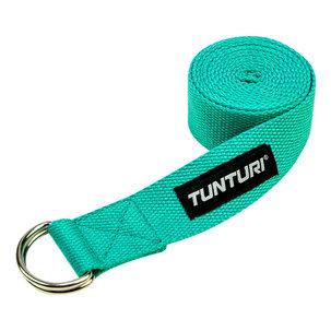 Yoga strap - yoga belt - 200cm - Turquoise