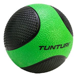 Medicine Ball - Medicijnbal - Rubber - 2kg - Geel/Zwart