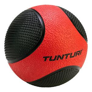 Medicine Ball - Medicijnbal - Rubber - 3kg - Rood/Zwart
