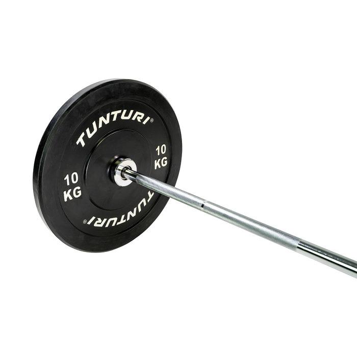 Tunturi Olympische Halterstang - 168 cm - 50mm diameter