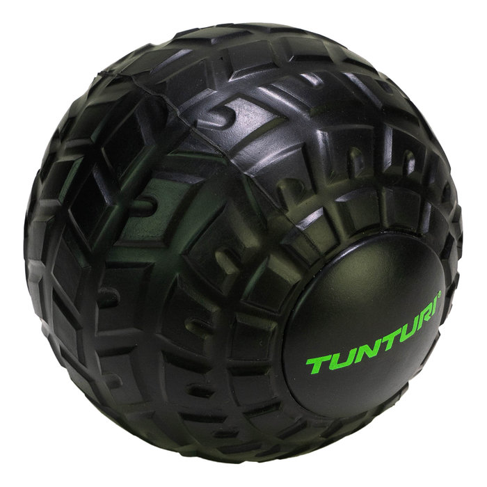 Tunturi massage ball - massage ball roller - 12cm -Black