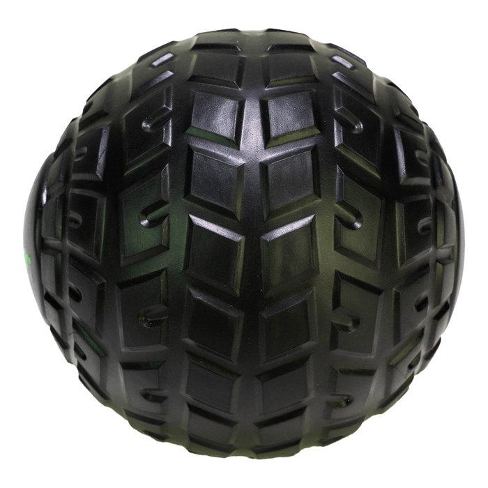 Tunturi massage ball set - massage ball roller - 12cm -Black