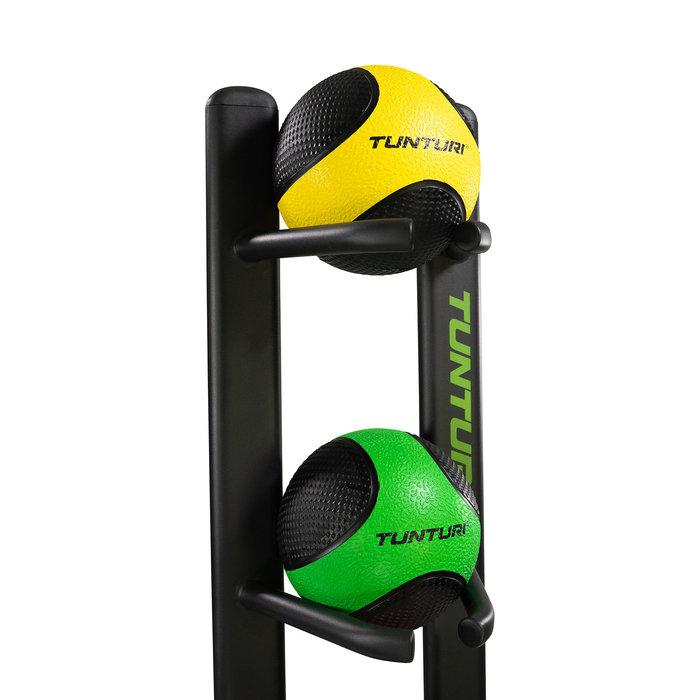 Medicine Ball rack - Medicijnbal rek - Zwart