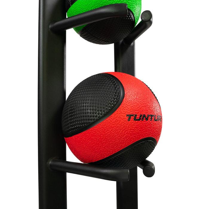 Ball Rack - Medicine Ball stand - Black