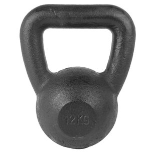 Kettlebell - Zwart 12 kg