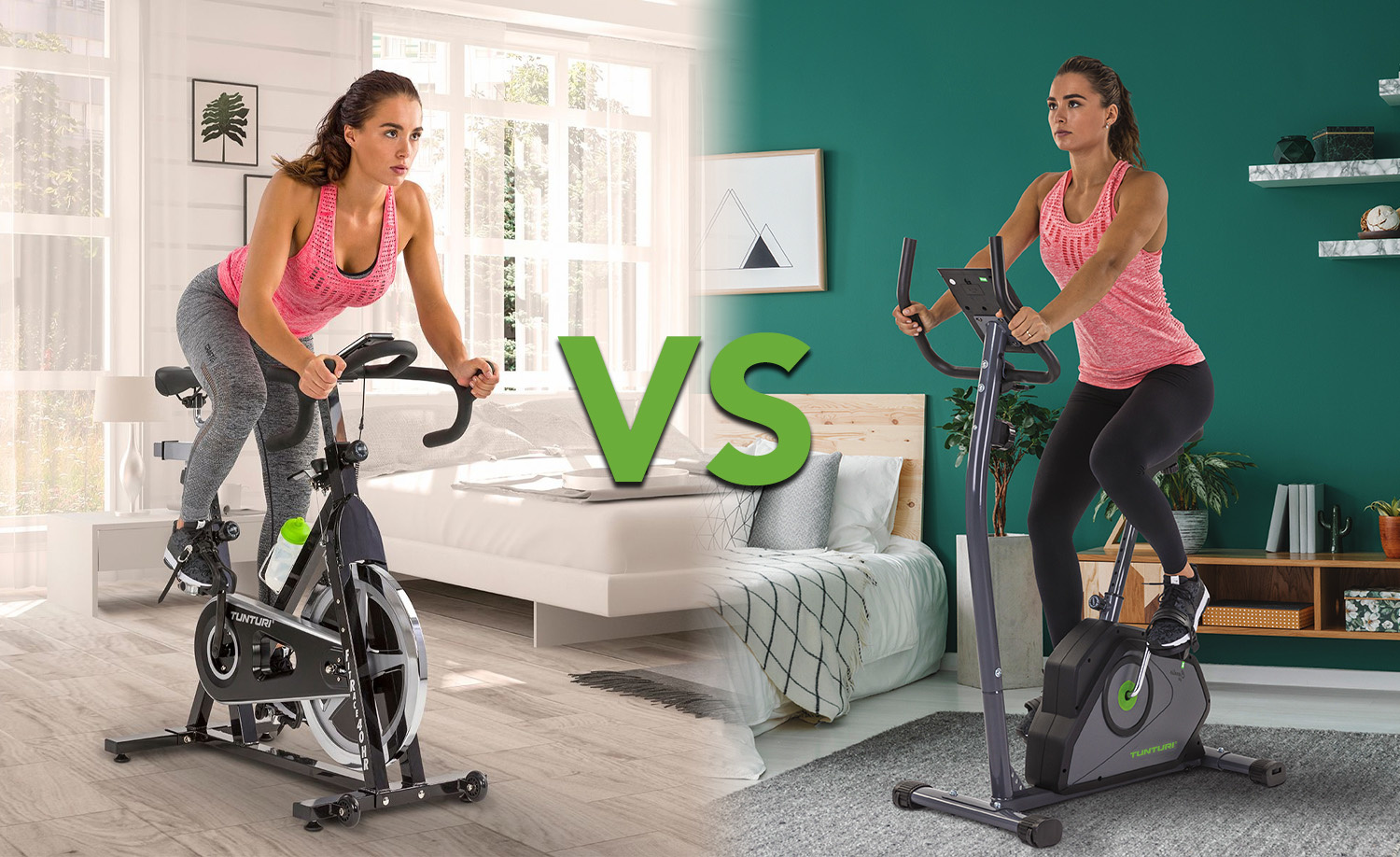 The differences between a sprinter bike and an exercise bike