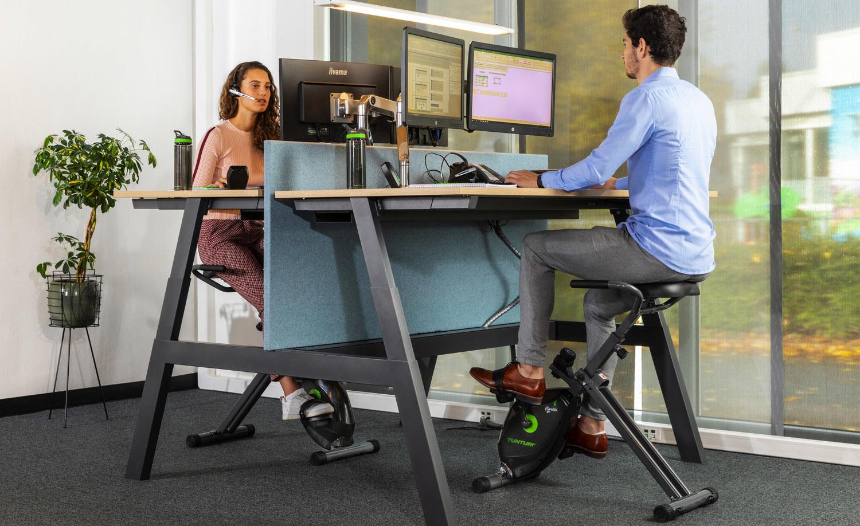 Vijf tips om te bewegen op en rondom je werkplek