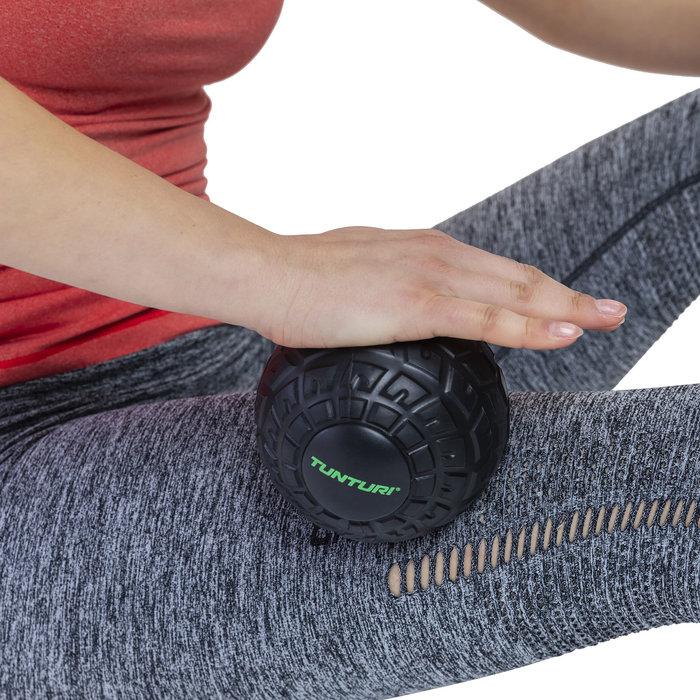 Tunturi massage ball - massage ball roller - 12cm -Black