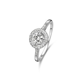 Parte di Me Luce Mia Dalia 925 sterling zilveren ring met zirkonia