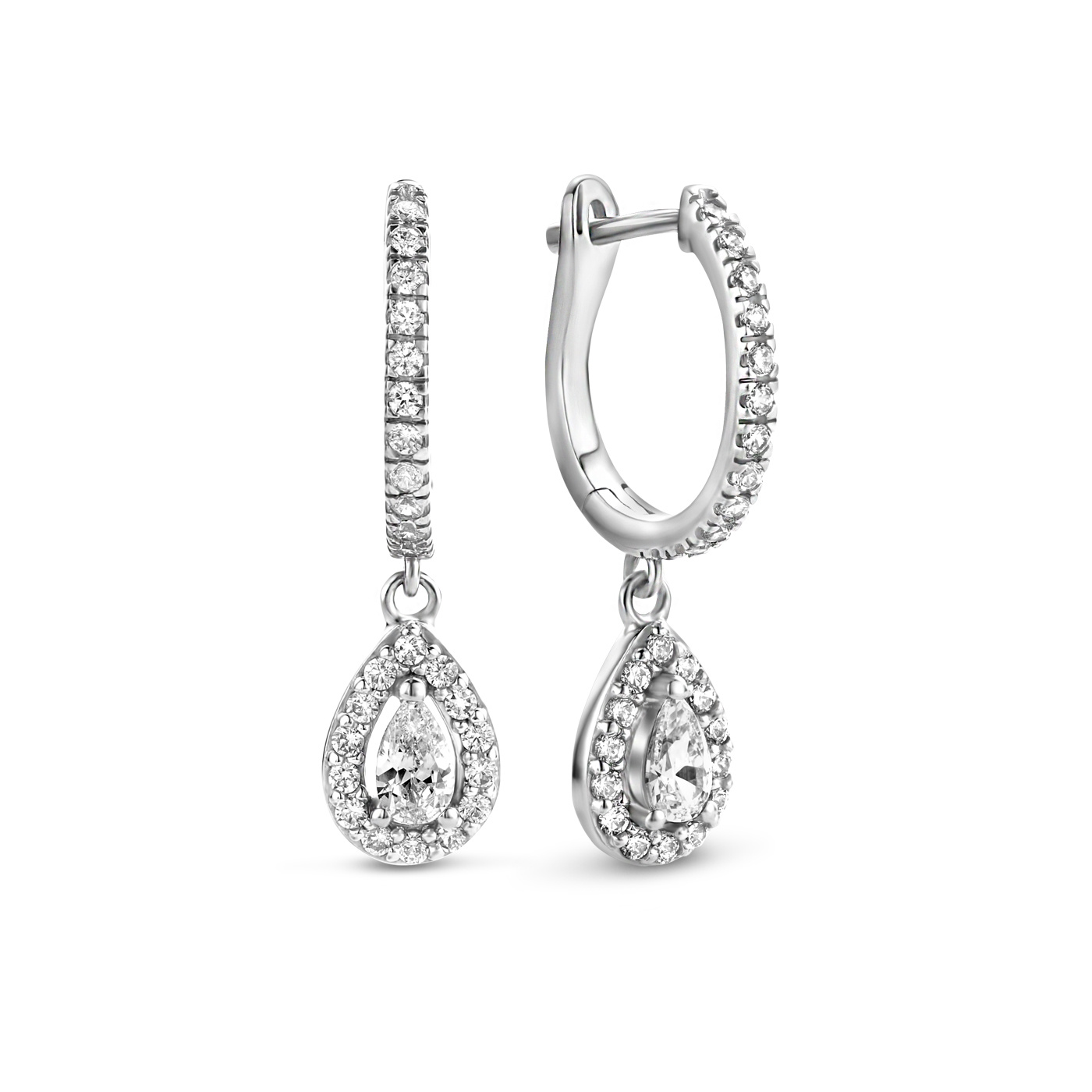Parte di Me Ponte Vecchio Pitti 925 sterling silver drop earrings with zirconia