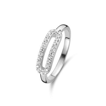 Parte di Me Ponte Vecchio Vasariano anello in argento sterling 925
