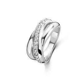 Parte di Me Ponte Vecchio Vasariano 925 sterling silver ring with zirconia