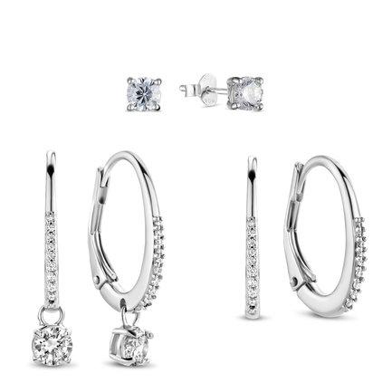 Parte di Me Sorprendimi 925 sterling silver set earrings