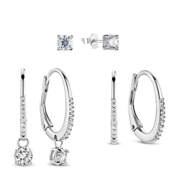 Parte di Me Sorprendimi 925 sterling silver set earrings