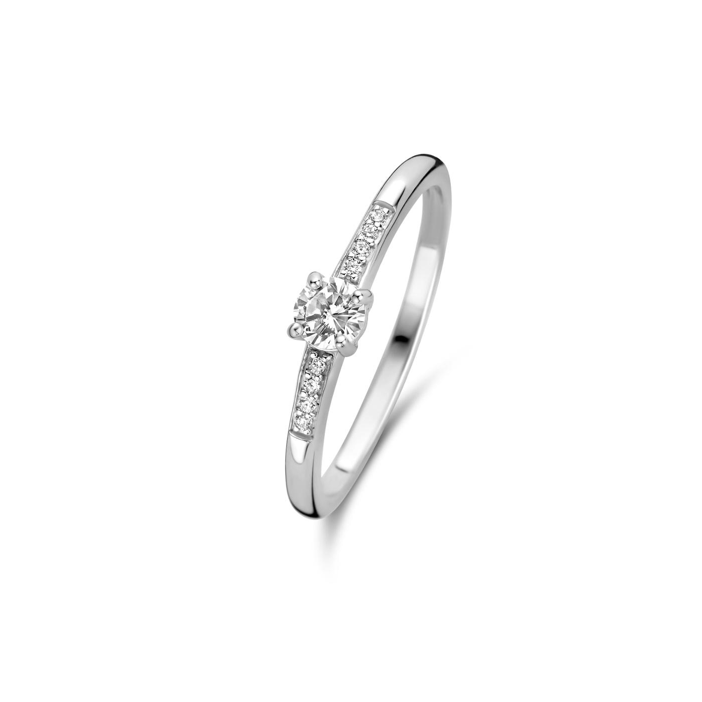 Parte di Me Brioso Cortona 925 sterling zilveren ring steentje