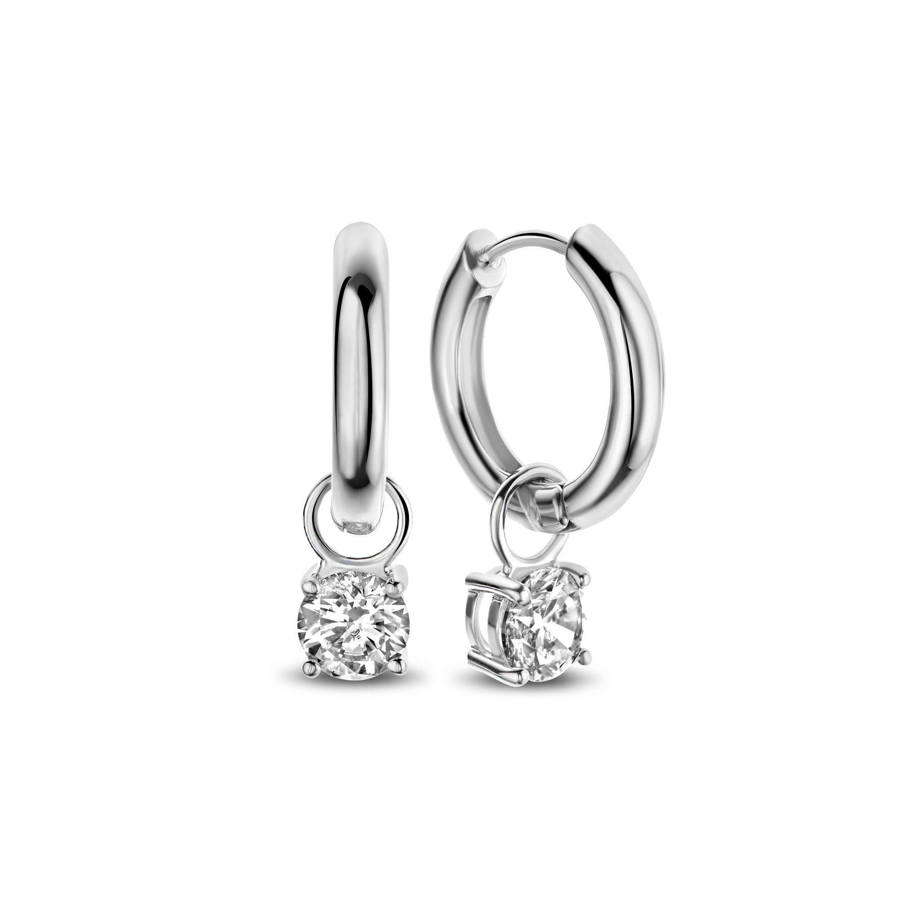 Parte di Me Bibbiena Poppi 925 sterling silver earrings zirconia