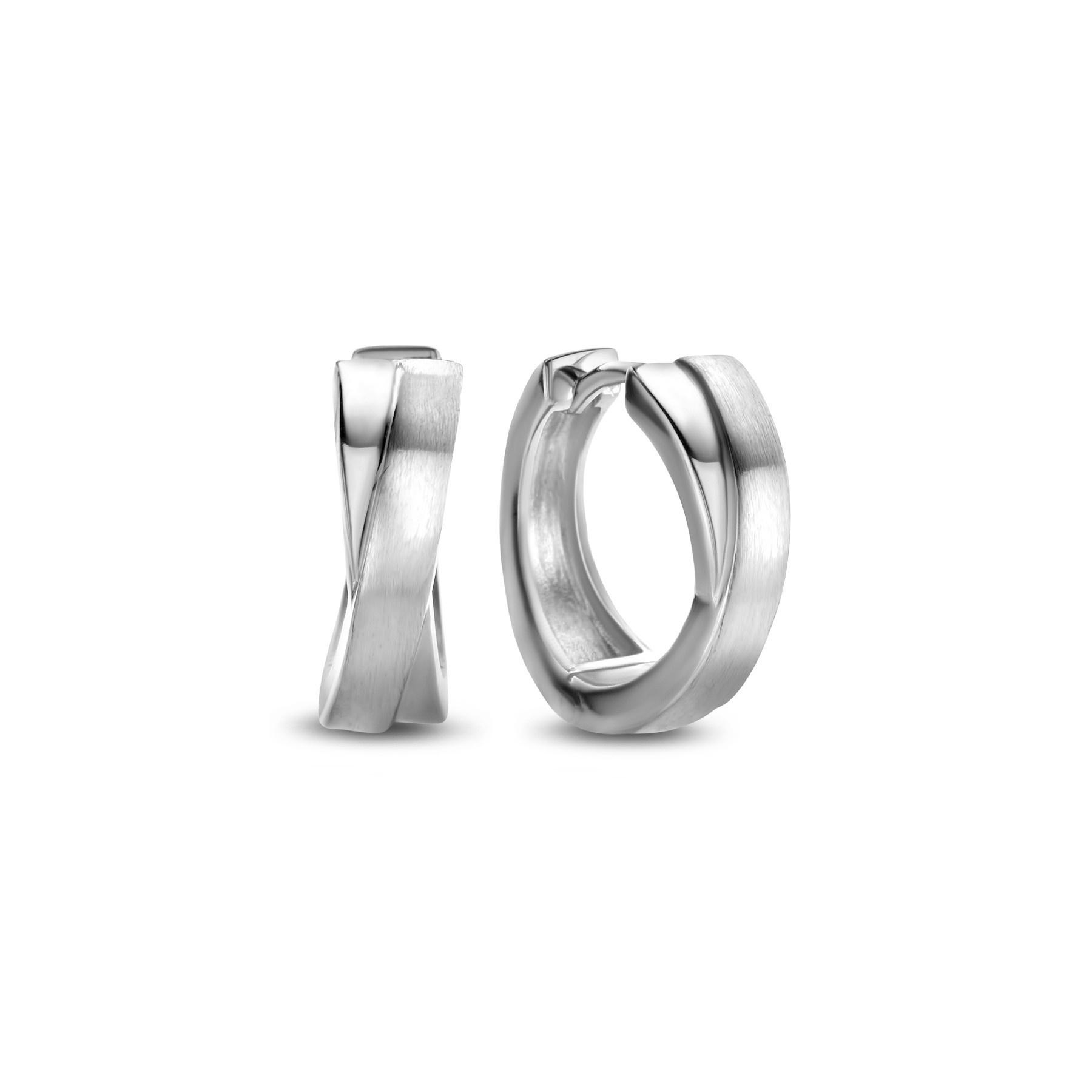 Parte di Me Bibbiena Poppi Casentino 925 sterling silver hoop earrings