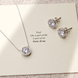 Parte di Me Luce Mia Sonia 925 sterling silver earrings