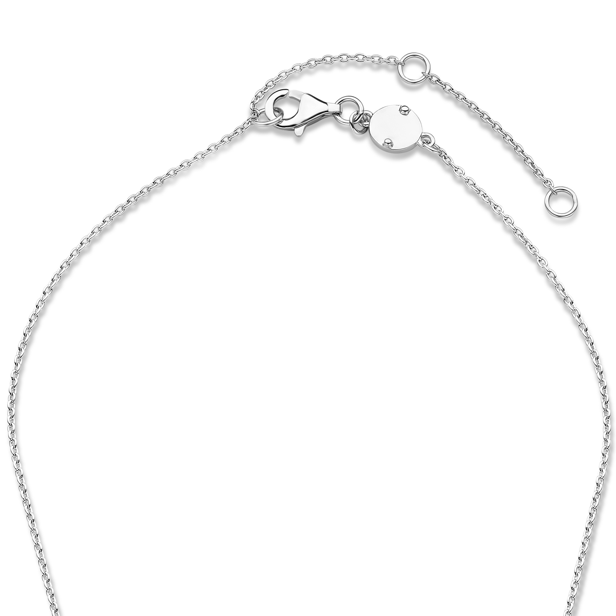 Parte di Me La Sirena Ombrone 925 sterling sølv halskæde