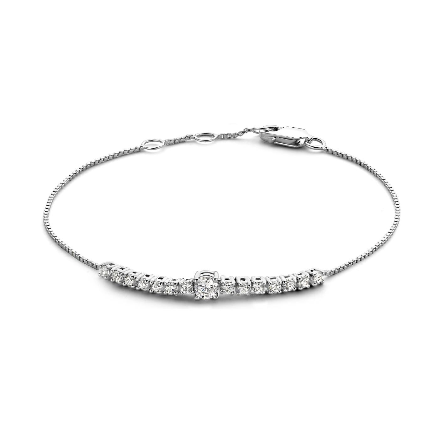 Parte di Me Ponte Vecchio Santa Trinita 925 sterling silver bracelet with zirconia
