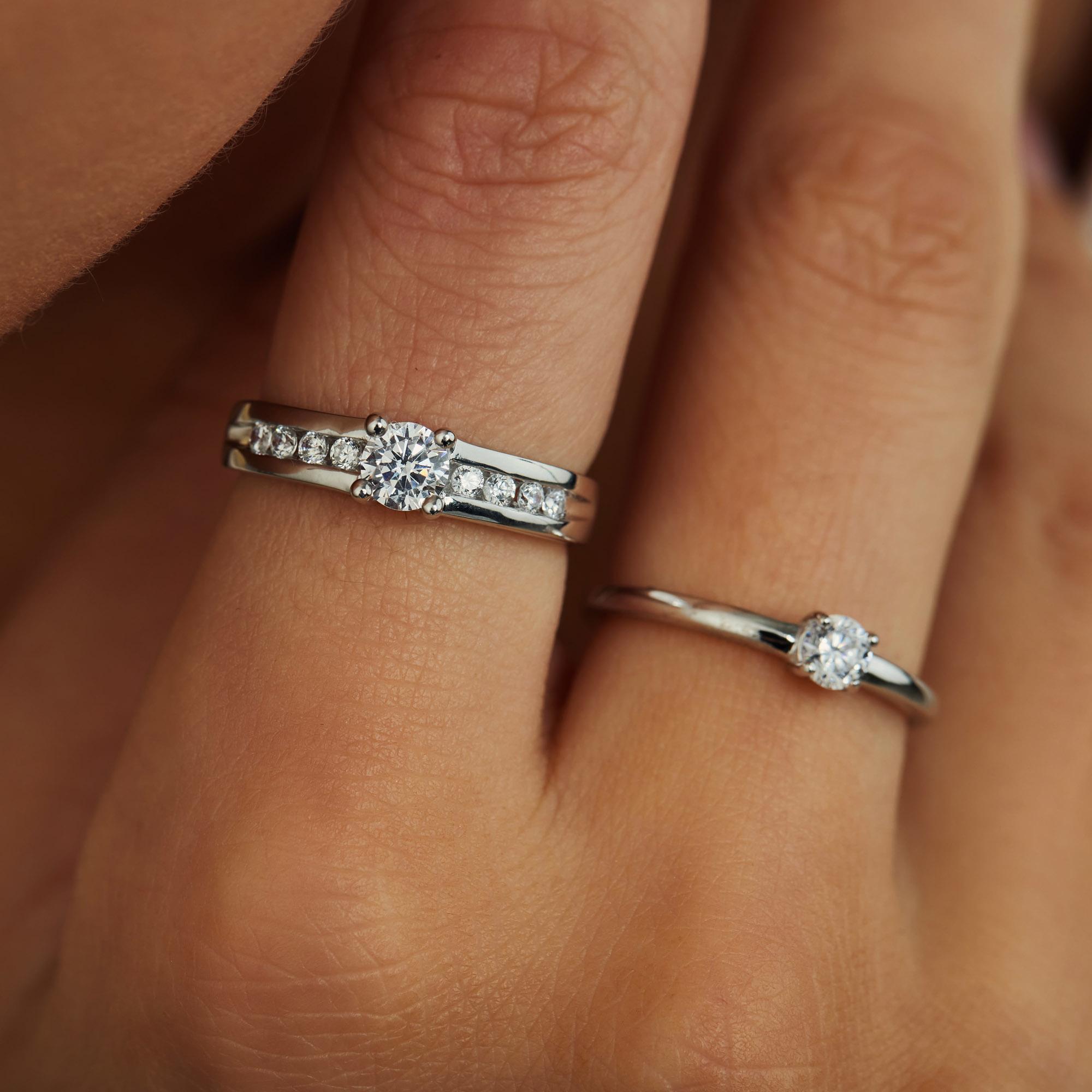 Parte di Me Ponte Vecchio Santa Trinita 925 sterling silver ring with zirconia